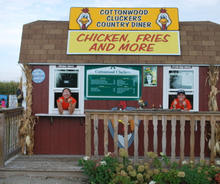 Cottonwood Clucker's Fry House